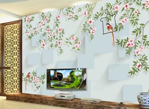 3D Sweet Style Birds 8 Wall Paper Murals Wall Print Wall Wallpaper Mural AU Kyra