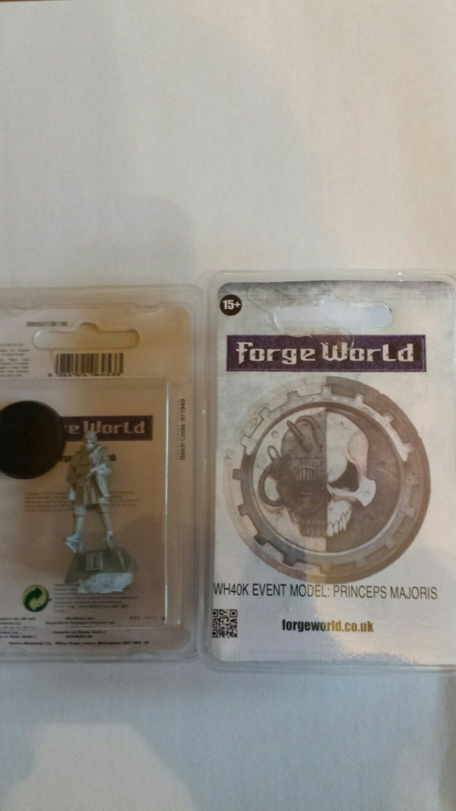 Forgeworld 2015 Event Only. Forge World WH40K Princeps Majoris BNIB