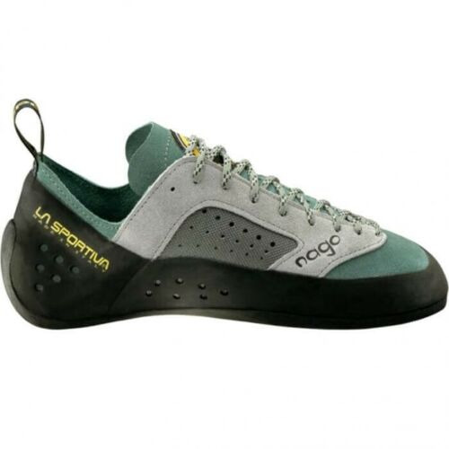 La Sportiva 553 NAGO Woman Sage Women's Rock Climbing Shoes Sz EU 40.5 US 9