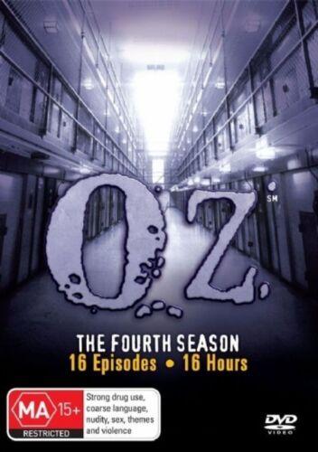 1 of 1 - Oz : Season 4 (DVD, 2008, 6-Disc Set)*R4*terrific Condition
