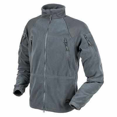 Gut Ausgebildete Helikon Tex Stratus Heavy Fleece Jacket Jacke Shadow Grey Outdoor - 320g/m2 Fest In Der Struktur