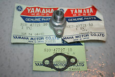 nos snowmobile Yamaha speedometer gear housing cover ex440 gpx srx et250 et340
