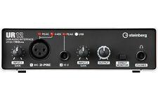 Steinberg UR12 USB Audio Interface, XLR in, HI-Z in, 192 kHz, RCA OUT
