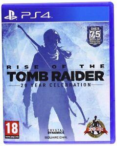 Rise-OF-THE-Tomb-Raider-20-ANNI-FESTA-PER-PS4-nuovo-e-sigillato
