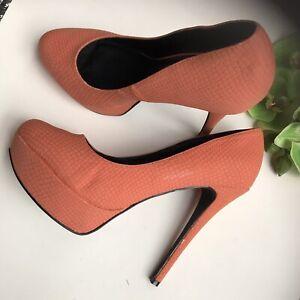 heels peach