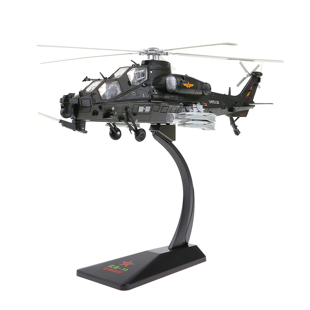 Alloy 1 48 Aircraft Model Diecast Helicopter Warplane Fighter Model for Gift
