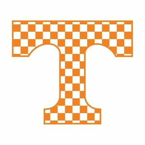 Ut Tennessee Volunteers Large Checkerboard Power T Decal