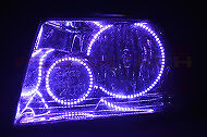 Ford Expedition V.3  Fusion Color Change LED Halo Headlight Kit (2003-2006)