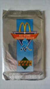 1991-92-UD-Upper-Deck-McDonalds-Hockey-Pack-Unopened-Discount-On-Muliptles-Box