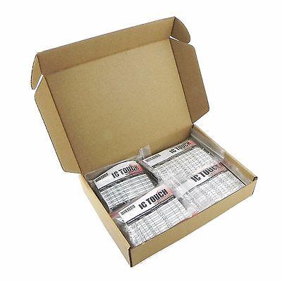100value 1000pcs Electrolytic Capacitor Transistor Diode Kit KIT0175 UK