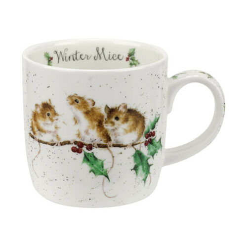 Wrendale Tasse Royal Worcester animal animaux Tasses Choix de Designs Noël