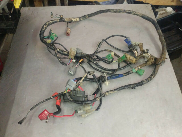 Honda Foreman 450 4x4 FM 2003 Wiring Harness Wire on