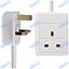 UK-Mains-Extension-Lead-Cables-1-2-3-4-6-8-10-Gang-50cm-20m-Plug-Black-White thumbnail 4