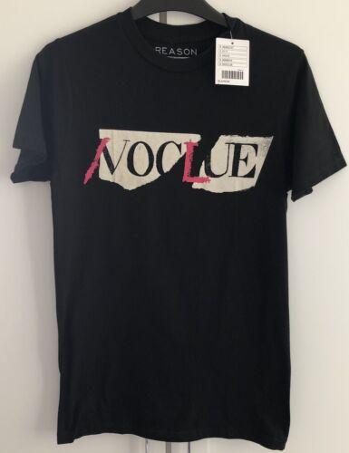Urban Outfitters Noir Sans Motif aucun indice Vogue T-Shirt Tee BNWT UK S rose blanc