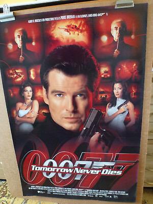 Tomorrow Never Dies 1997 Original Movie Film Cinema Poster James Bond 007 Ebay