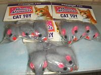 9 Brand Cat Nip Mice Premium Toy