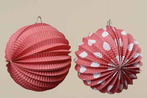 Partydeko Gartendeko für Grillfest Gartenparty 242370 Lampions 6er-Set