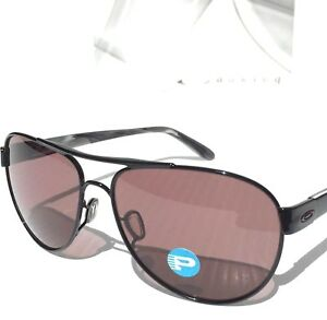 5260003a94 Details about NEW  Oakley DISCLOSURE Black w POLARIZED Grey Lens Womens  Sunglass 4110-04  180