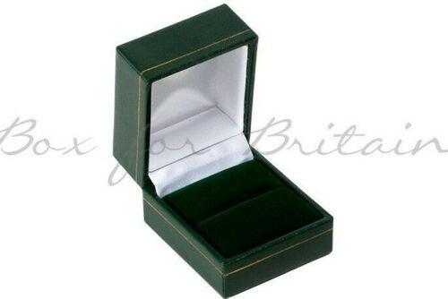 Caja De Cuero Anillo Verde todo precio de venta. cajas de 48 anillas