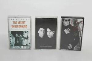 Lou Reed Velvet Underground Magic And Loss Cassette Tapes Pack Of 3 Vintage