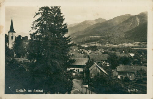 Ansichtskarte Dellach im Gailtal   (Nr.9306)