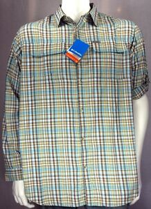 d34bf17269f NEW Columbia Silver Ridge™ Plaid Men's Big & Tall Longsleeve Shirt ...