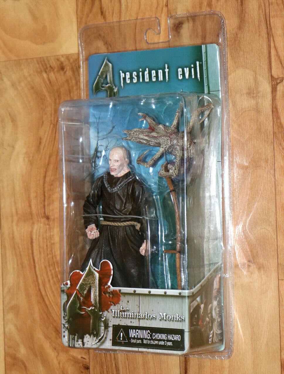 Resident evil 4 ILLUMINADOS MONKS Bald Monk Action Figure Neca PS2 Gamecube
