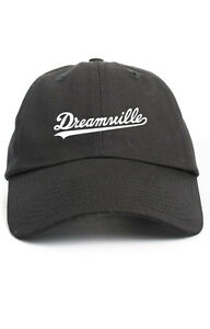 e0c0e0ba70dbf Dreamville Custom Unstructured Black Dad Hat Cap J Cole TDE Nation ...
