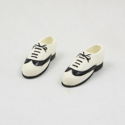 """12"""" Takara Blythe Doll Black And White Casual Shoes 1 Pair  sh5"""