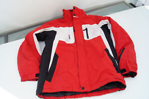 Etirel-Kinder-Ski-Snowboard-Winter-Jacke-Skijacke-Steppjacke-Gr-176-16-j-rot