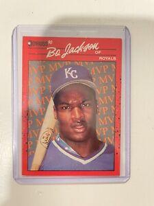 "Bo Jackson 1990 Donruss BC-1 ""no dot"" after INC error W/ Bo Jackson Huge Lot"