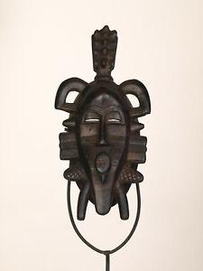 BF3-Senufo-alte-afrikanische-Kpelye-Maske-Masque-Senoufo-Old-tribal-mask
