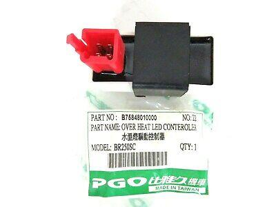 OEM PGO Bugrider Bug Rider 250 BR250 Over Heat Led Controler B75848010000
