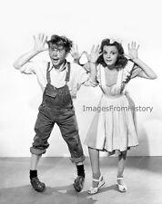 8x10 Print Mickey Rooney Judy Garland Babes on Broadway #34656