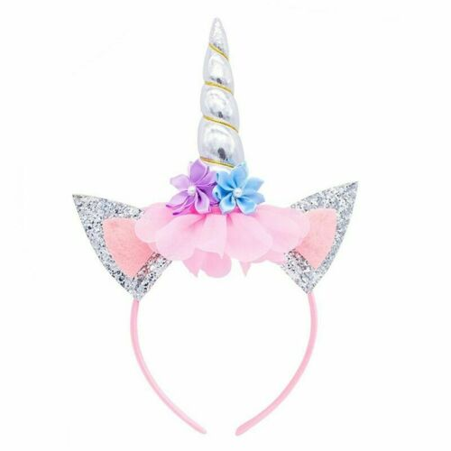 Unicorn Horn Party Kid Baby Hair Headband Cosplay Decor Hair Hoop Novelty