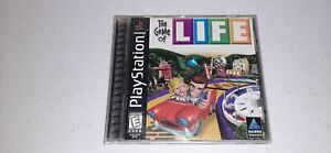 The Game of Life (Sony PlayStation 1, 1998) PS1 Black Label Video Game Complete
