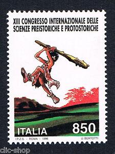 ITALIA-UN-FRANCOBOLLO-CONGRESSO-INTERNAZIONALIE-DELLE-SCIENZE-PREI-1996-nuovo