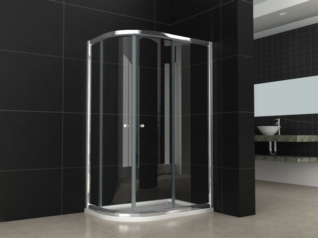 1200x800mm offset quadrant bathroom shower enclosure left hand tray rh ebay co uk