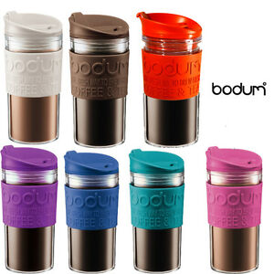 Bodum Coffee Herbal Tea Double Wall Insulated Travel Mug