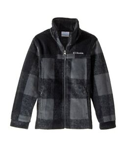 2dfd76784 New Youth Infant Toddler Columbia Zing III Fleece Jacket Plaid Black ...