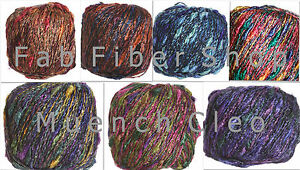 Muench-Cleo-Heavy-Worsted-Metallic-Blend-Yarn-Color-Choice-Loom-Knit-Crochet