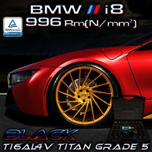 BMW i8 Performance 996 Rm[N/mm²] Original PTP Titan Radschrauben PVD BLACK - Essen, Deutschland - BMW i8 Performance 996 Rm[N/mm²] Original PTP Titan Radschrauben PVD BLACK - Essen, Deutschland