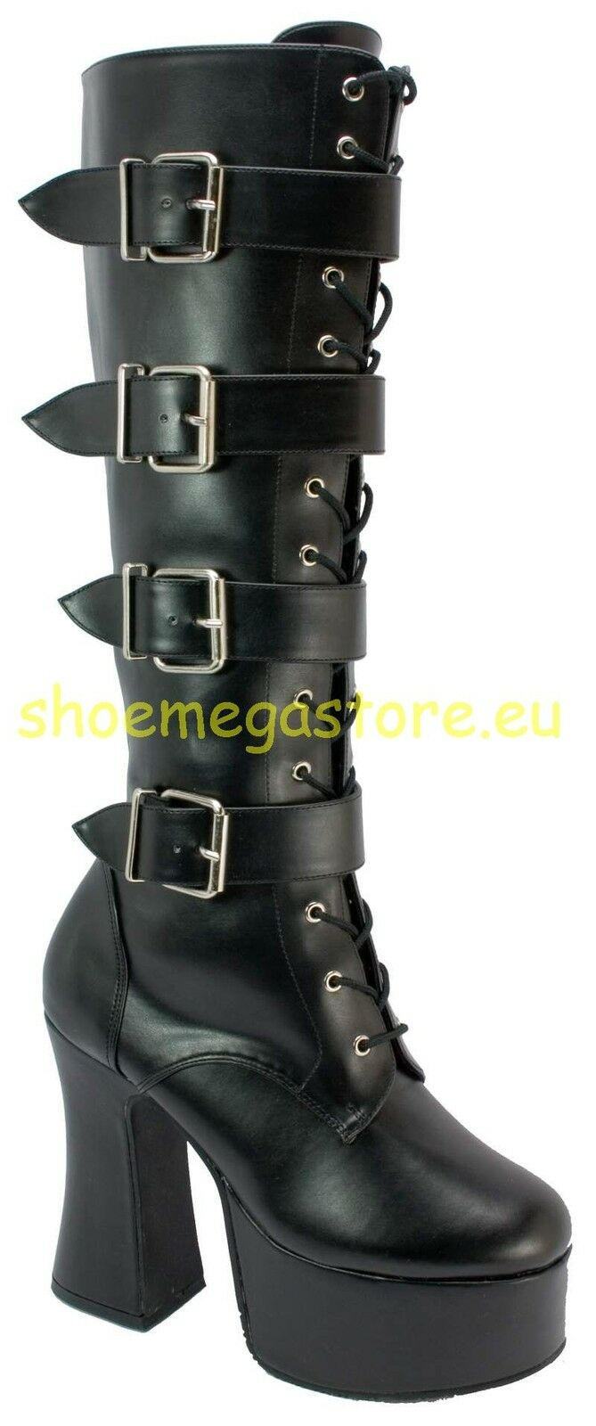 Demonia gothic heels slush pu 225
