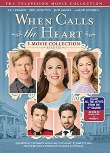 When-Calls-The-Heart-Year-Six-6-Hallmark-Channel-Region-1-DVD-New-In-Stock