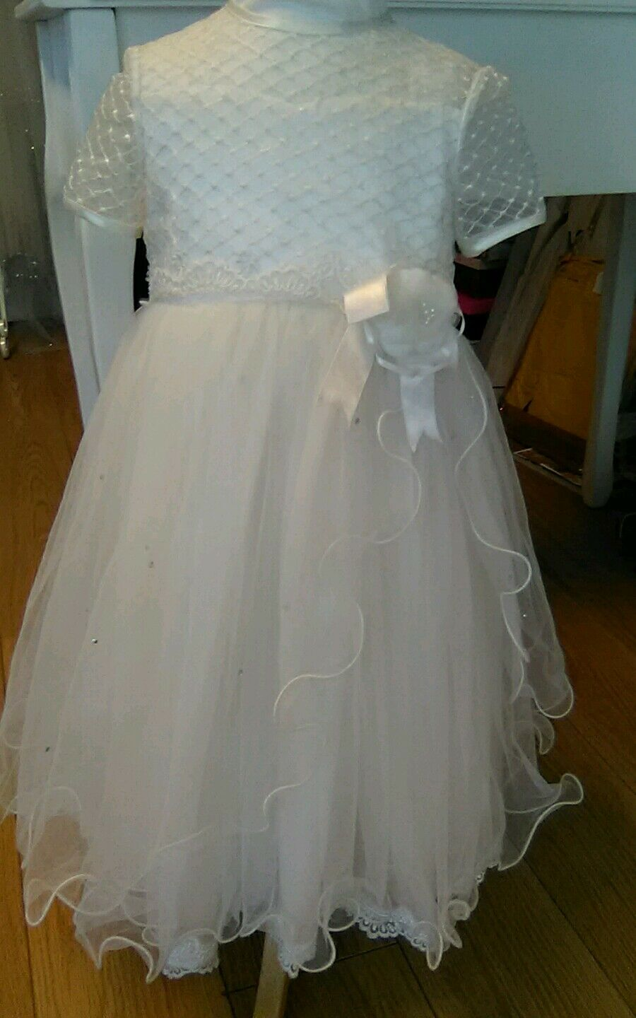 Sarah louise, age 3 years party/flower girl dress