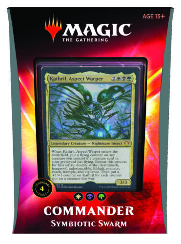 Magic the Gathering MTG Commander 2020 Ikoria Multiplayer Deck englisch OVP