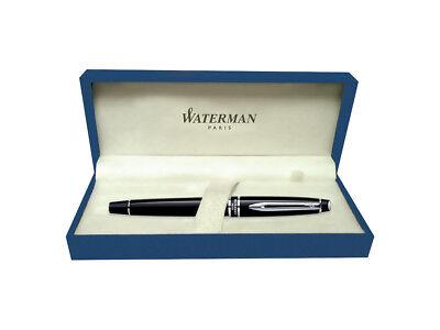 Waterman EXPERT III refill black gloss GT Brand New Ball Point pen LOOK box