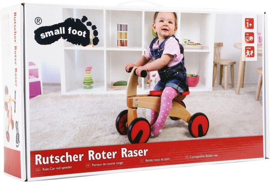 "Rutscher ""Roter ""Roter ""Roter Raser"" aus Holz c3d537"