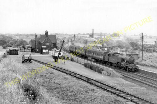 Wigan to Burscough. Gathurst 5 Appley Bridge Railway Station Photo Parbold