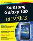 Samsung Galaxy Tab for Dummies by Dan Gookin (2011, Paperback)